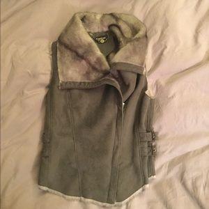 Bebe grey vest